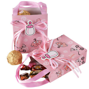 12Pcs Mini Girl Christening Favor Baby Shower Gift Birthday Party Decorations