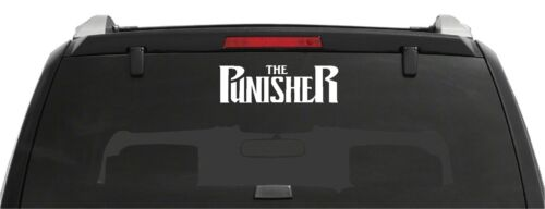 The Punisher Comic Book Letters Car Truck Window Laptop Vinyl Decal Sticker