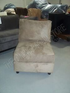 Pottery Barn Pb Comfort Armless Sectional Accent Chair