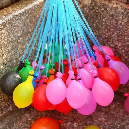 333-1110 Stück Wasserballon Wasserbomben Sommer Kinder Toys Draußen Party Urlaub
