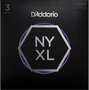 D-039-Addario-Nickel-Wound-Cordes-pour-guitare-electrique-Medium-11-49-3-Ensembles