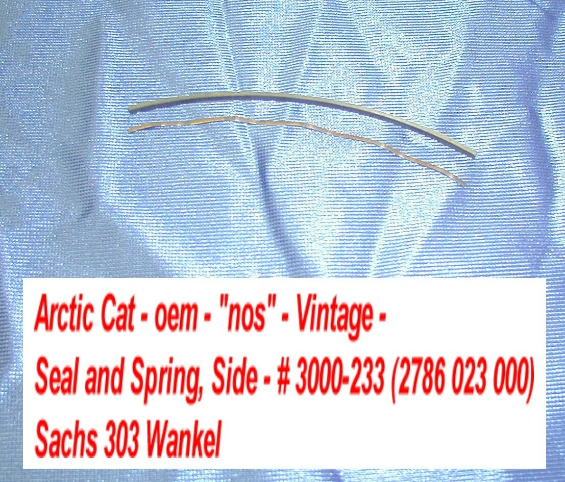 Arctic Cat Seal  and Spring, Side - Sachs 303 Wankel KM914B  factory outlet