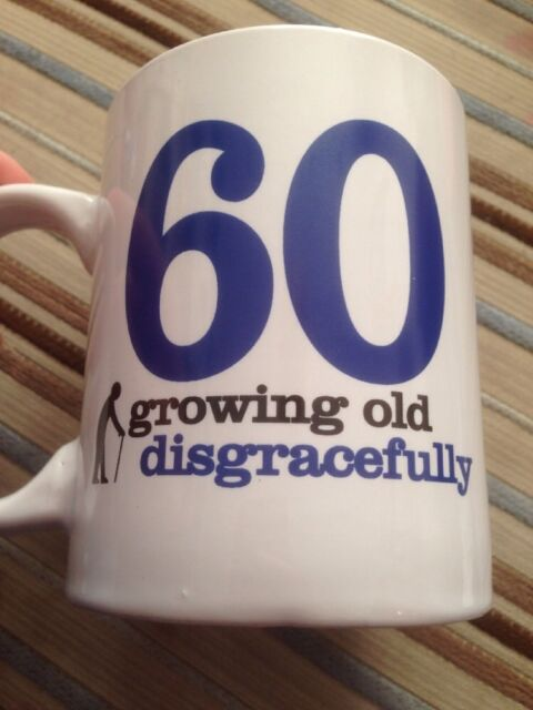 60 Growing Old Mug 60th Birthday Gifts For Men Him Husband Gift