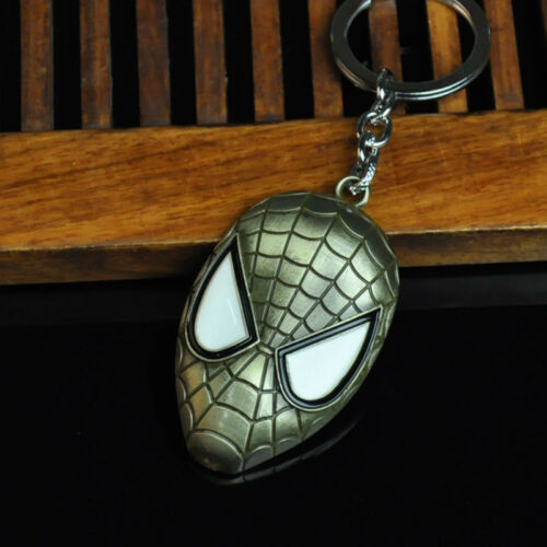 New Marvel Avengers Spider Man Alliage Porte-clés Keychain Keyfob Porte-clés cadeaux