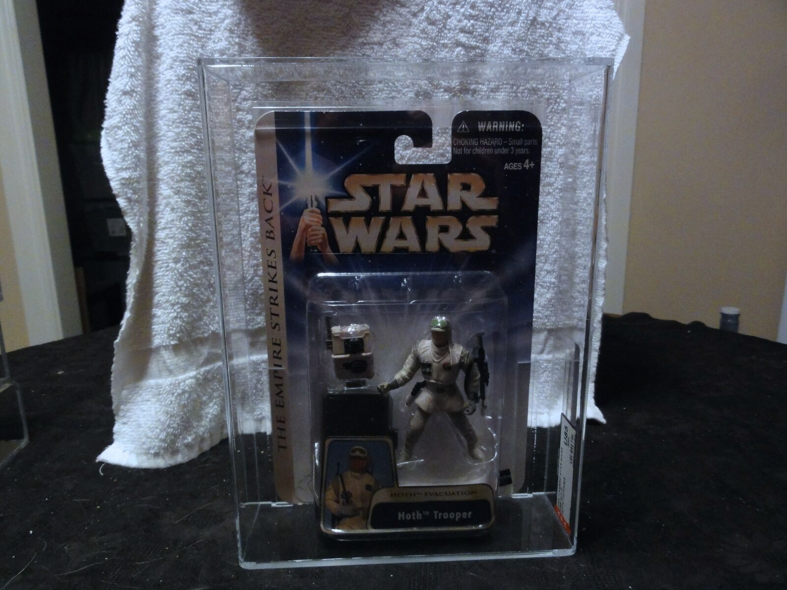 Star - wars - 2004 (Gold - soldat afa versiegelt mib - box