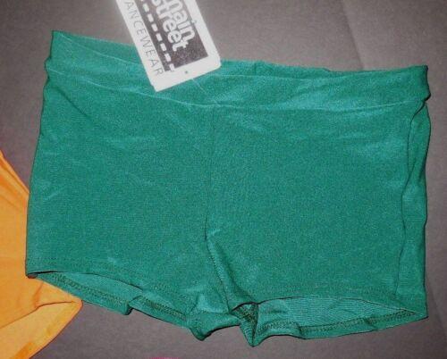 NWT Boy cut wide waist trunks booty shorts matte spandex Many Colors ch//lady szs