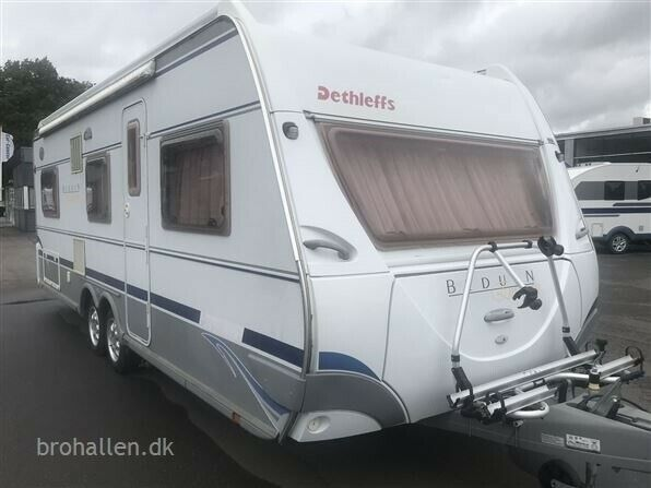 Dethleffs Beduin Emotion 595 S, 2005, kg egenvægt 1450