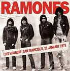 Ramones Old Waldorf San Francisco 31 January 1978 CD European Echoes 2015