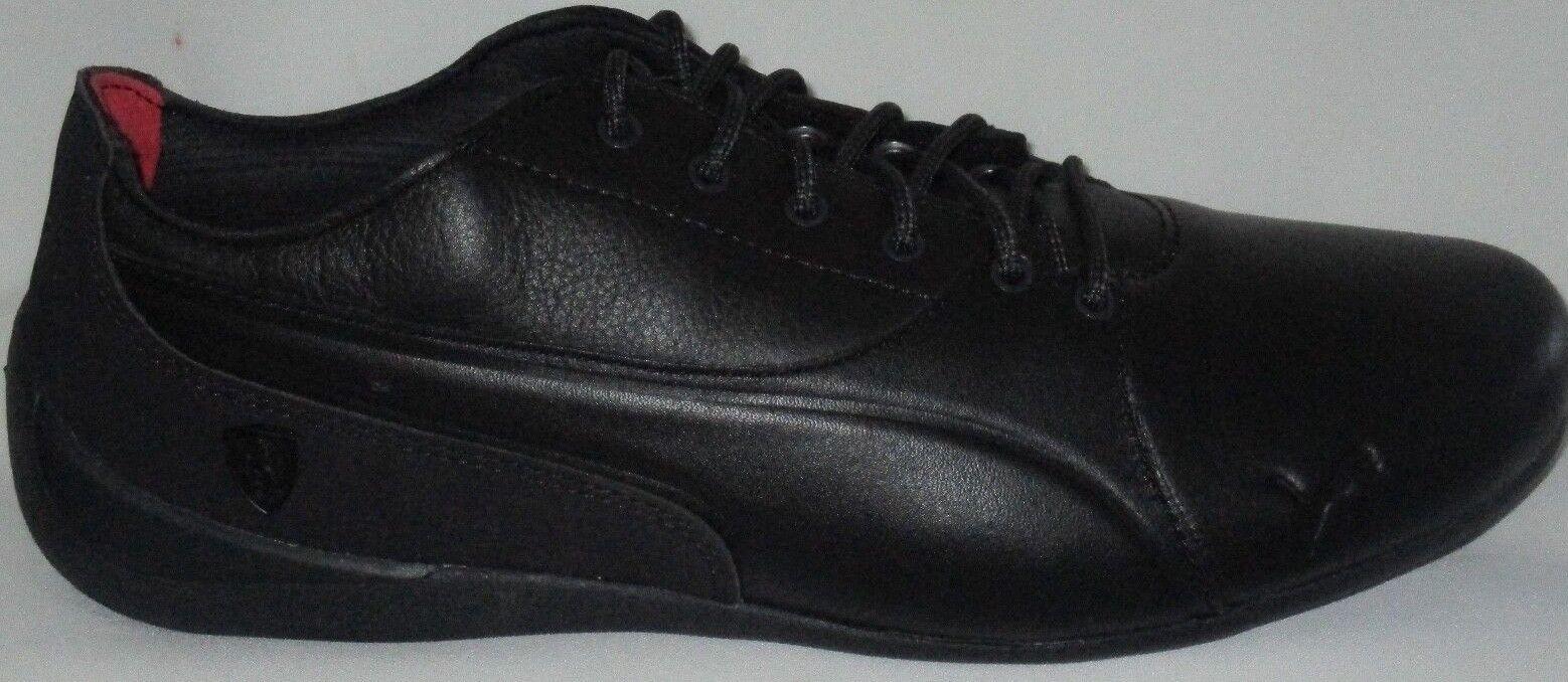 Men's PUMA SF FERRARI DRIFT CAT 7 LS Negro-Negro Zapatos 8