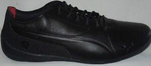 6b2d9e3017a MEN S PUMA SF FERRARI DRIFT CAT 7 LS BLACK-BLACK SHOES 10.5 ...