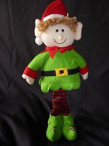 SALE 95cm Flexible Plush Soft Xmas Santa//Snowman Figures Christmas Decorations