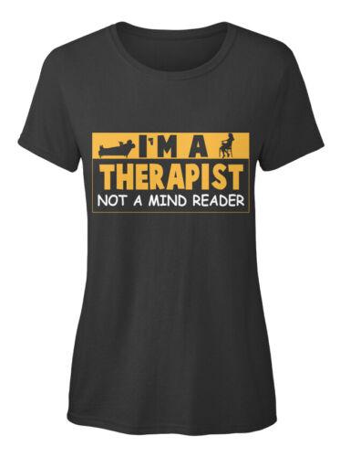 I/'m A Not Mind Reader Standard Standard Women/'s T-shirt Fashionable Therapist