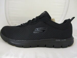 Skechers-Flex-Appeal-2-0-Newsmaster-Ladies-Trainers-UK-8-US-11-EUR-41-REF-3163