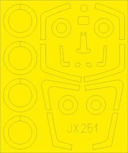 Eduard-Accessories-JX251-1-3-5-Mirage-2000-C-for-Kitty-Hawk-New