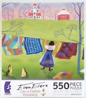 03 Ceaco® 550pc Ellen Eilers • Life In Calico Country• Jig Saw Puzzle 550