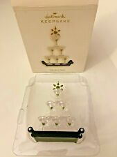 Time for a Party Martini Glass Christmas Tree Hallmark Keepsake Ornament 2006