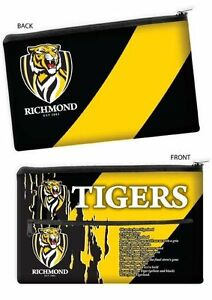 QUALITY-LARGE-AFL-Richmond-Tigers-Pencil-Case-for-School-Work-stationary