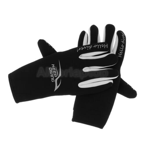 3mm Neopren Handschuhe Unisex Erwachsene Anti-Rutsch Tauchhandschuhe Wassersport