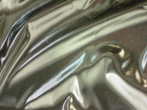 11 colours Shiny Polyester fabric app 112cm wide foil print