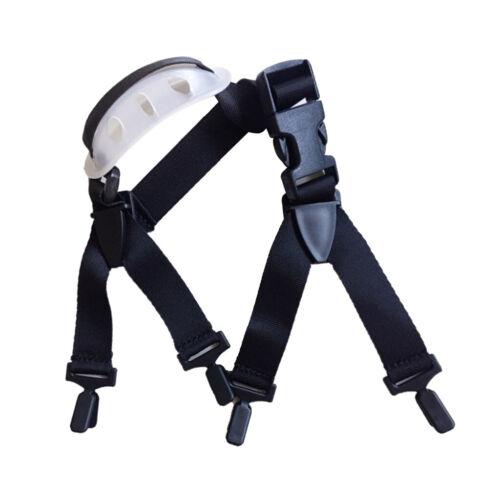 2 Pcs Safety Helmet Chin Strap Universal Hardhat Adjustable Strap,One Size