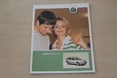 172260 Skoda Octavia Prospekt 04/2009 Geschickte Herstellung Tour