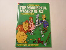 The Wonderful Wizard of Oz, Coloring Book, Unused