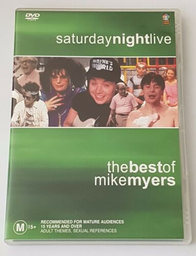 1 of 1 - Saturday Night Live - Best Of Mike Myers DVD (#DVD01572)