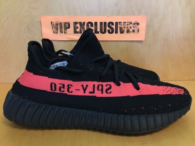 3f743becb3a81 Adidas Yeezy 350 V2 Boost Low SPLY Kanye West Core Black Red BY9612  SHIPPING NOW