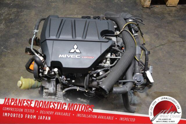 2010 Mitsubishi Lancer Ralliart Oem Engine Motor Assembly