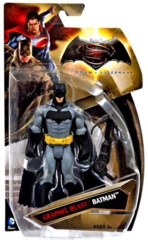 """NEW Mattel DJG30 Batman v Superman Grapnel Blast BATMAN 6/"""" Action Figure"""