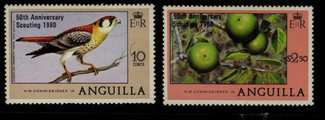 Anguilla 1980 Scouting Overprints - Mint