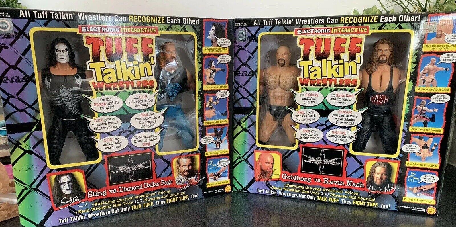 Tuff Talre'Wrestler WCW oroberg contro Kevin Nash Sting vs Diamond Dtuttias Page