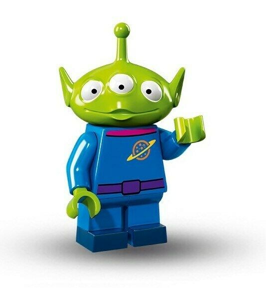 LEGO Disney Collectible Minifigure 71012 #2 Pizza Planet Alien, Brand New