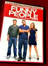 Funny People (DVD, 2009, 2-Disc Set, Rated/Unrated Versions Special Edition)
