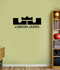 Lebron James Wall Quote Decals Vinyl Sticker For Room Home