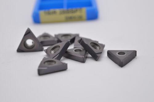 10pcs( 11IR 19BSPT SMX35 ) Carbide Insert For Threading Turning Tool Boring BAR