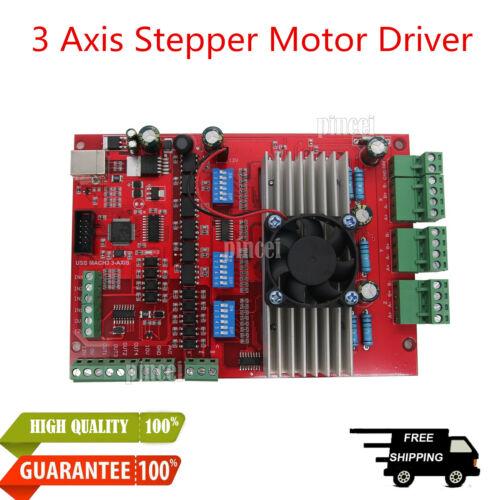 MACH3 USB 3-Axis CNC 100KHZ Stepper Motor Driver Board TB6560 USB Port HK***