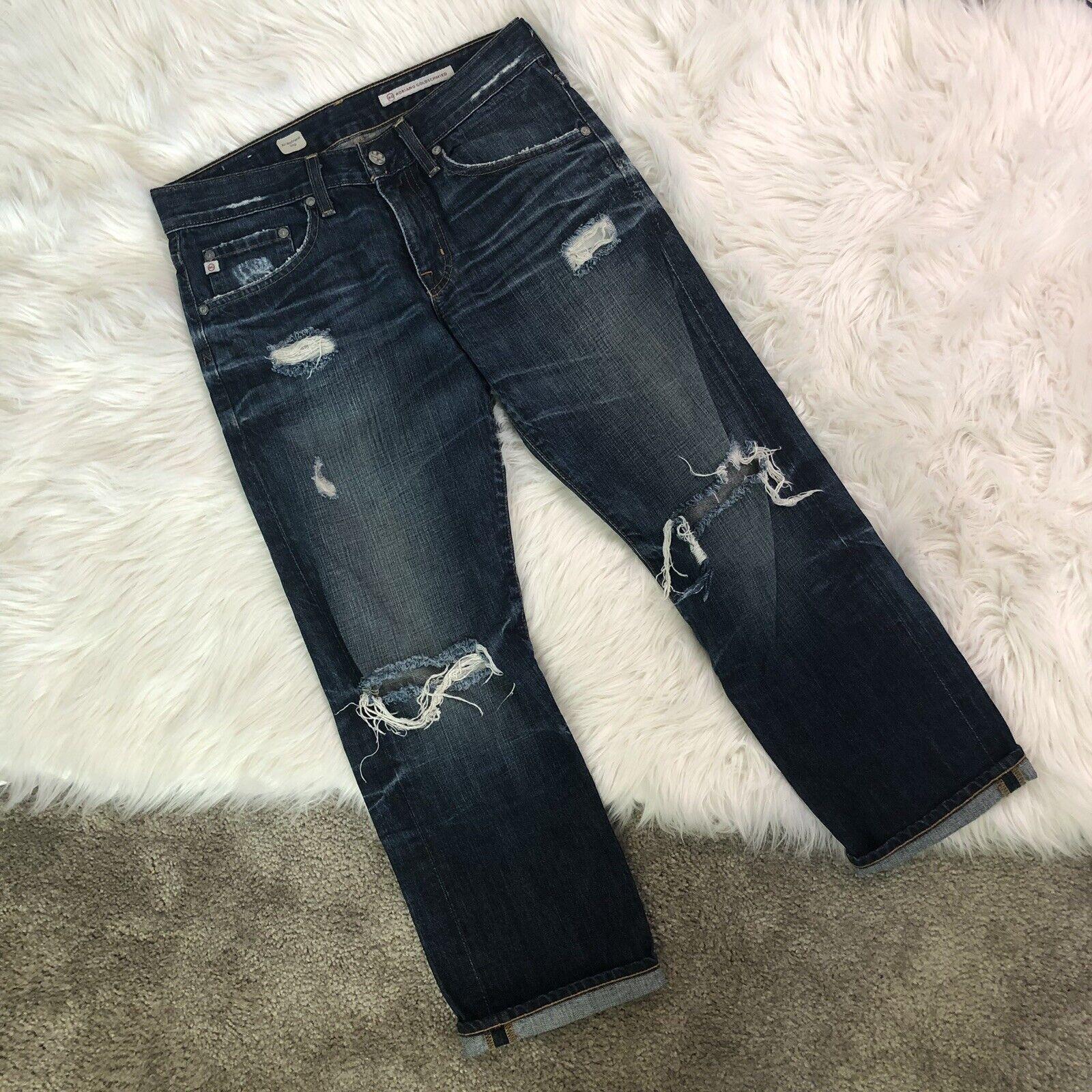 Adriano goldschmied Ex Boyfriend Crop 27r Jeans