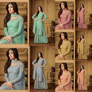 Salwar-Kameez-Indian-Pakistani-Suit-ethnic-Anarkali-Dress-Designer-Party-Wear-FM