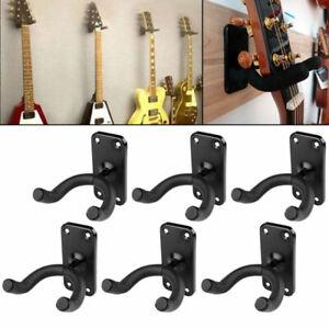 3-6x Gitarrenhalter Wandhalterung Gitarrenwandhalter Ukulelen Ständer Stativ