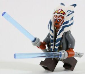 NEW-RARE-LEGO-STAR-WARS-AHSOKA-TANO-MINIFIGURE-75158-JEDI-MASTER-GENUINE