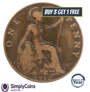 1911 à 1936 george v penny/pennies choix de l'année/date
