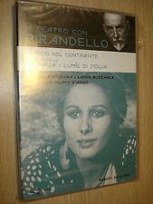 DVD N°26 A TEATRO CON LUIGI PIRANDELLO VIAGGIO NEL CONTINENTE PITAGORA BUZZANCA