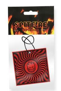 Spitfire-Wheels-Air-Freshener-Black-Red-Box-Swirl-new-sealed-skate-bmx-surf
