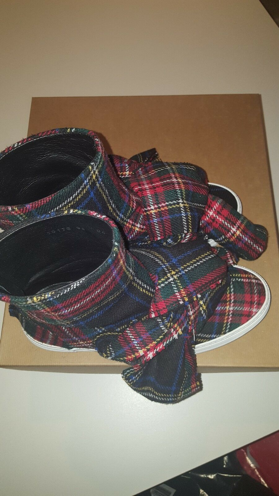 Joshua Sanders bow boots size 38