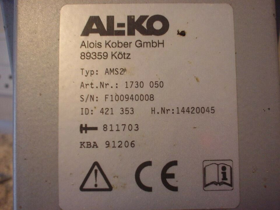 Campingvogn Mover, ALKO