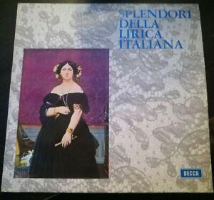 SPLENDORI DELLA LIRICA ITALIANA-DISCO VINILE 33 GIRI* N.117