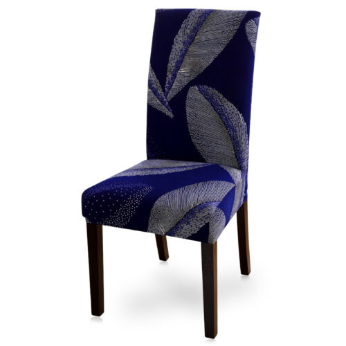 Dining Chair Covers Stretch Spandex Floral Slipcovers Home Wedding Banquet Hotel