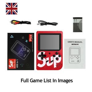 Ретро Game Boy 400 построен в классических игр sup коробка видео игровой портативный консоль