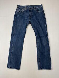 Levi-039-s-501-Jeans-w30-l32-blau-super-Zustand-Herren